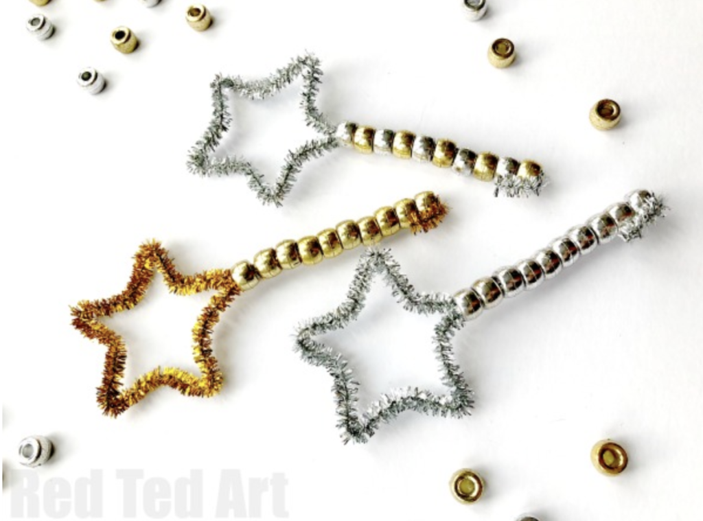 gorgeous star wands for new years
