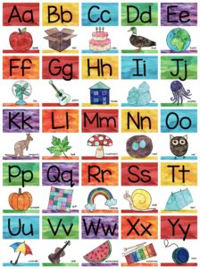 ABC alphabet posters and cards