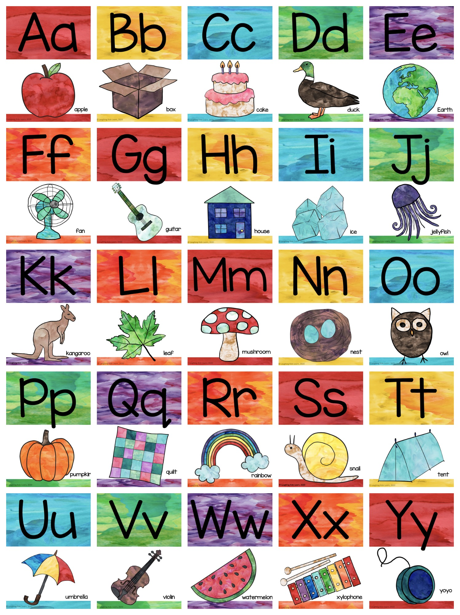 ABC Lied | ABC Song | Alphabet Song - YouTube