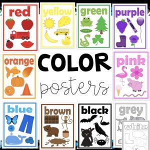 color poster for children