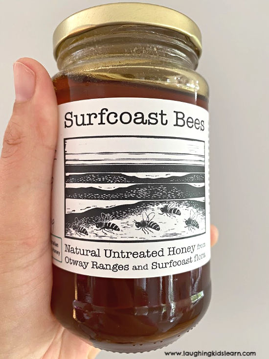 Natural supercoast honey bees used in honey joys. delicious and highly recommend.