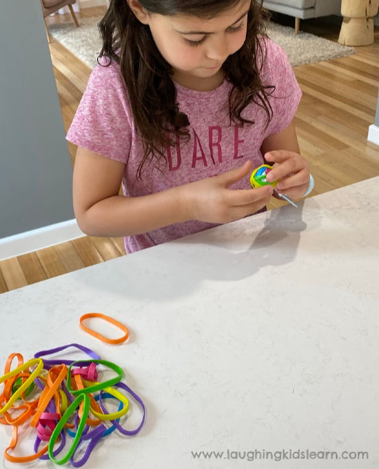 How to make rubber bouncy balls