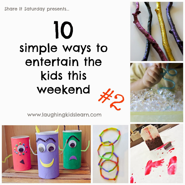 Share It Saturday - 10 simple ways to entertain the kids this weekend #2