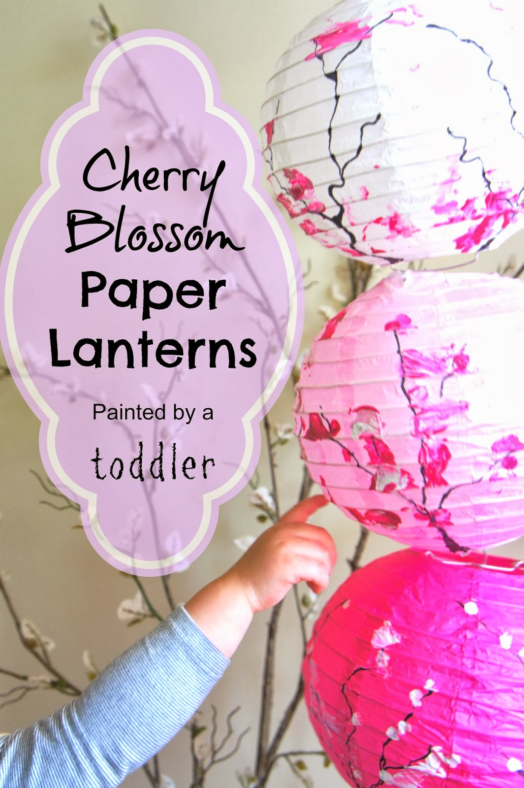 Cherry Blossom Paper Lanterns Laughing Kids Learn