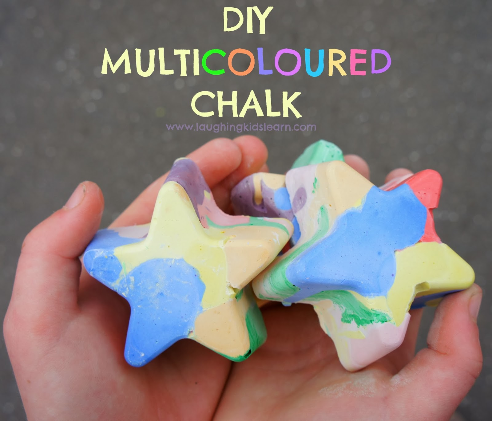 How to make chalk 52
