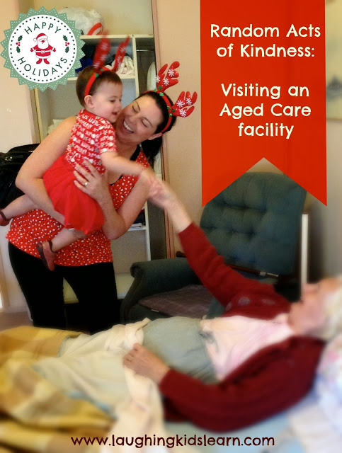 Random act of kindness: visiting a aged care facility for Christmas