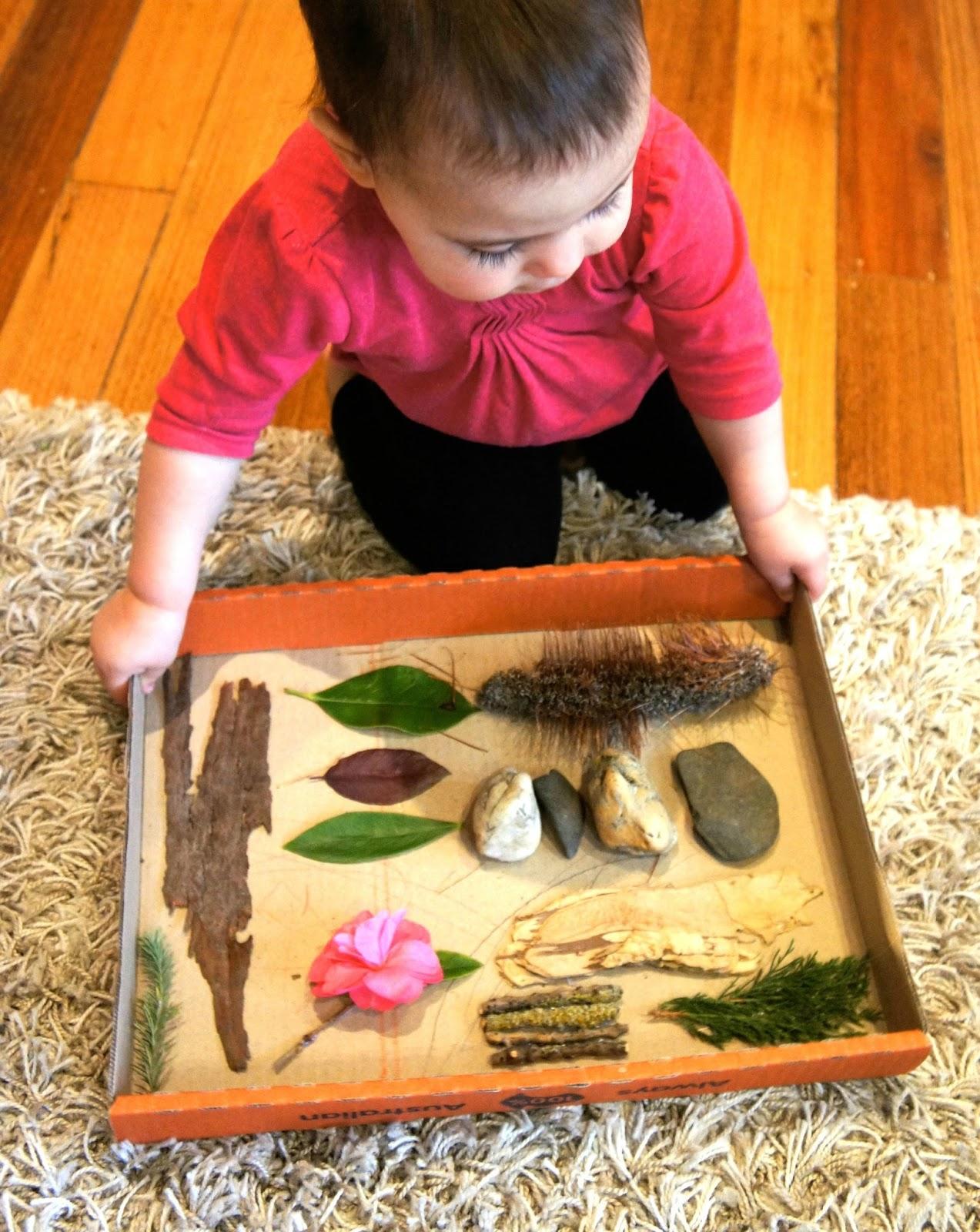 Diy Nature Sensory Board Laughing Kids Learn