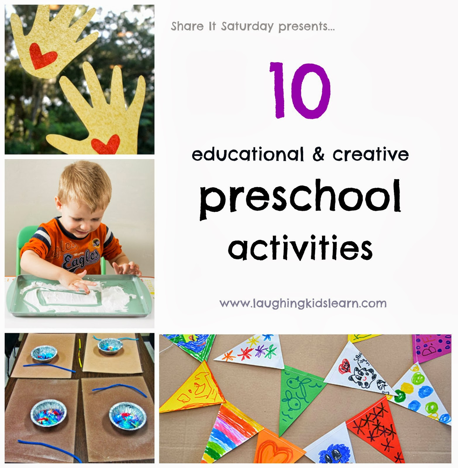 Share it saturday 10 educational and creative preschool for Educational crafts for preschoolers