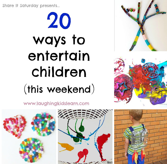 20 activities children can do on a weekend