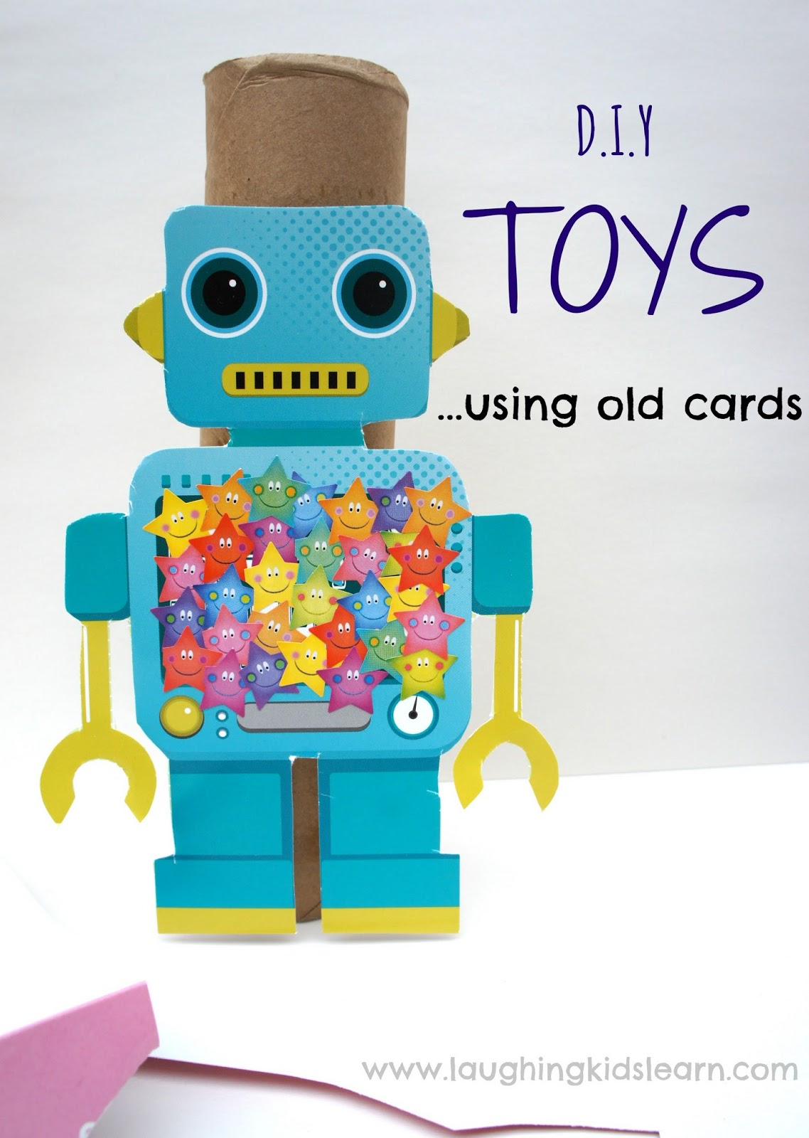 D I Y Toys Using Old Cards Laughing Kids Learn