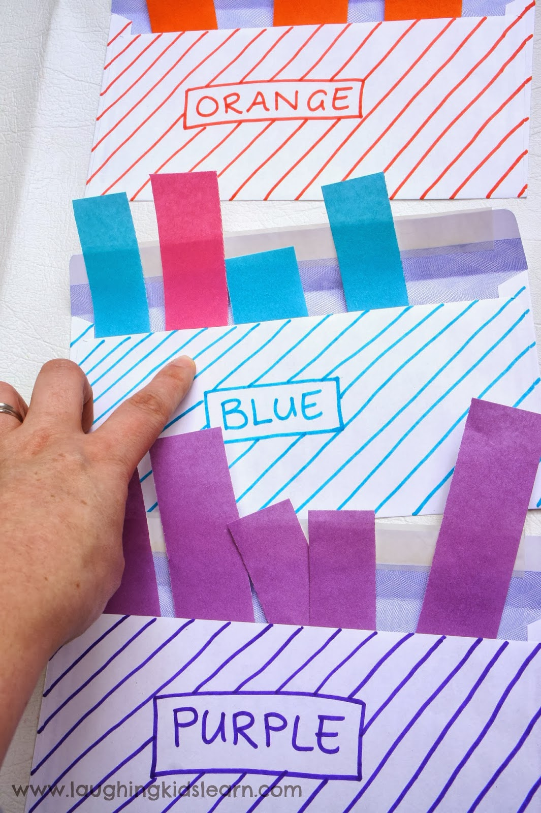 Colour Sorting Activity For Toddlers Laughing Kids Learn
