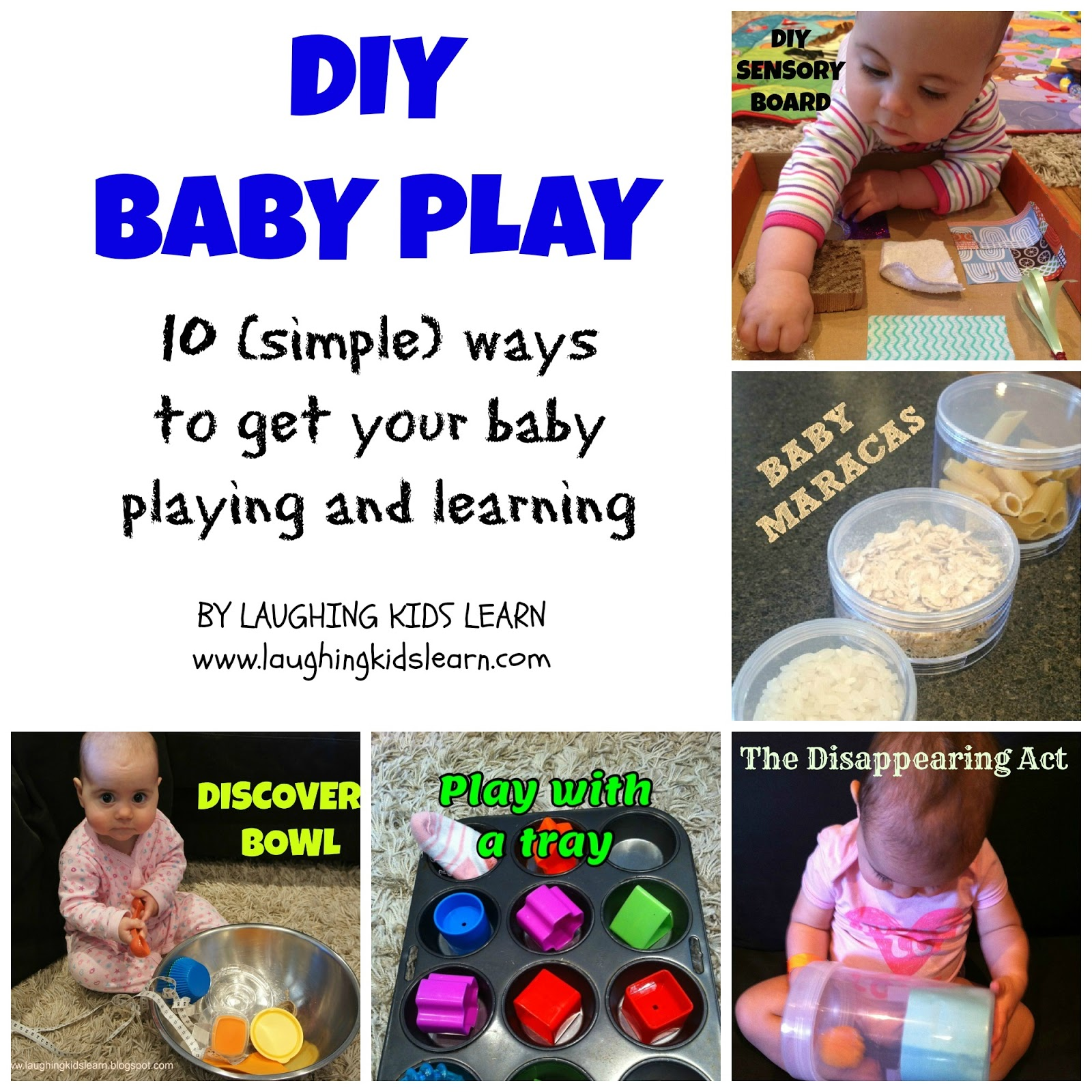 Diy Baby Play Ideas Laughing Kids Learn