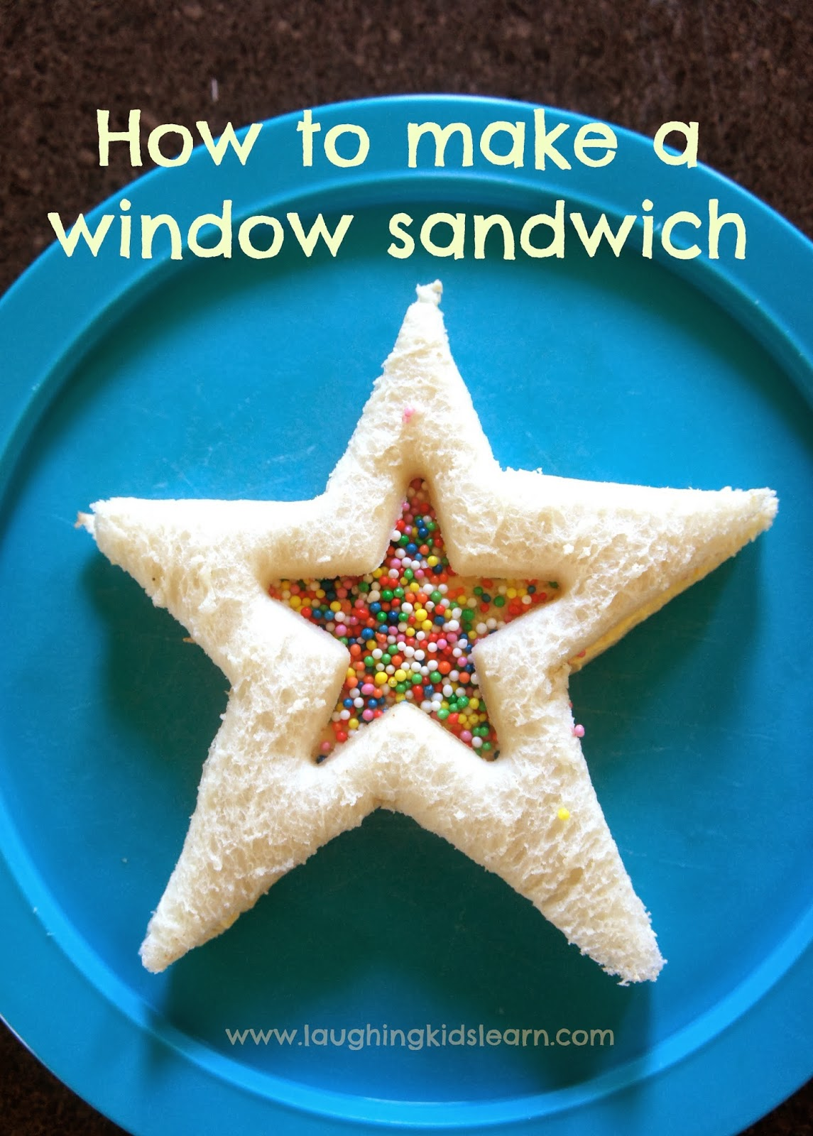 How to make a window sandwich - Laughing Kids Learn