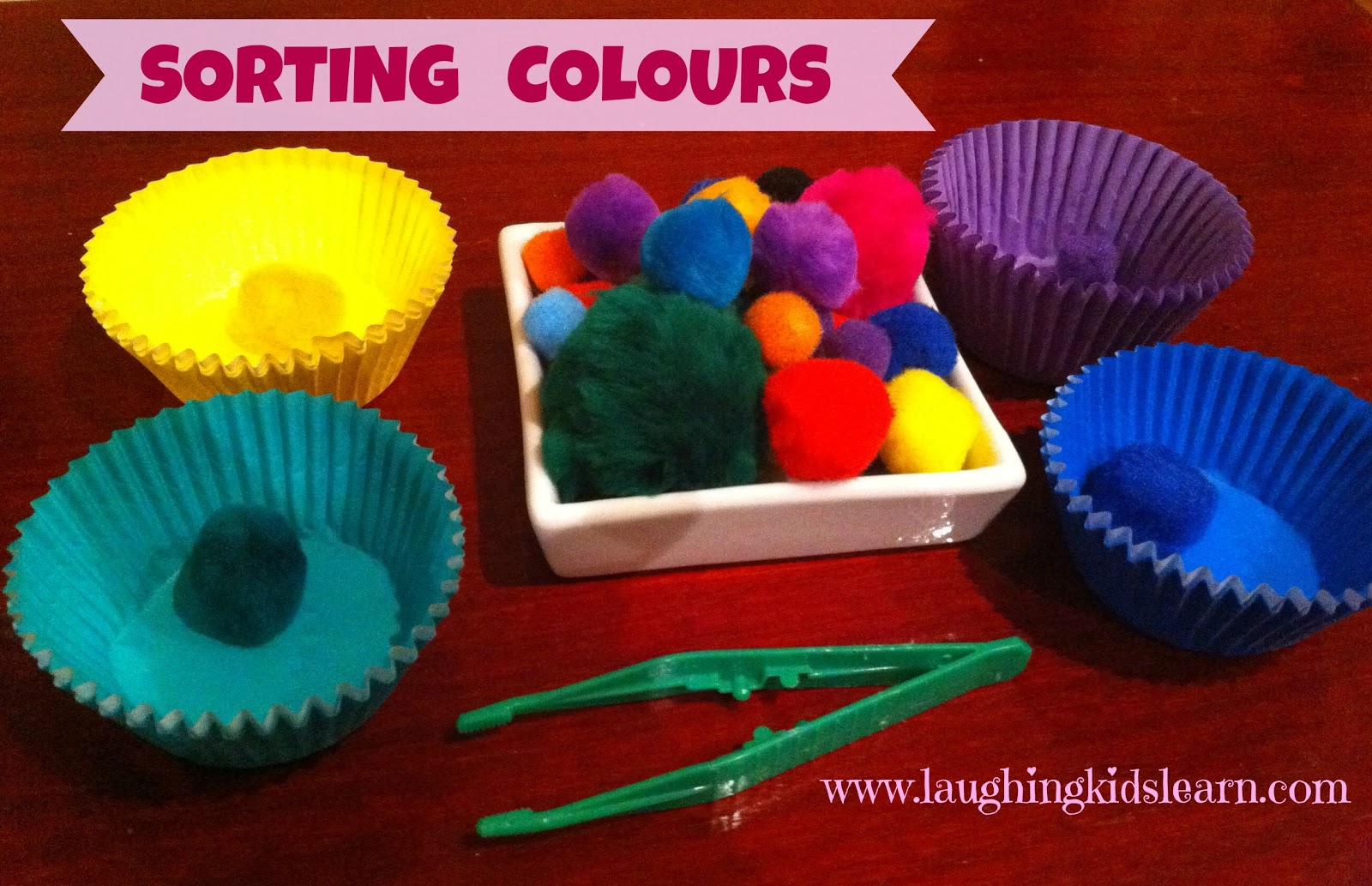 Sorting Colours Laughing Kids Learn