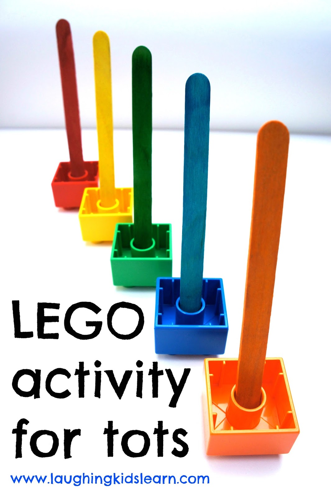 lego activity for tots - Colour Activities For Children