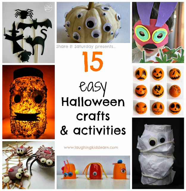 15 easy Halloween crafts and activities for kids Share It Saturday