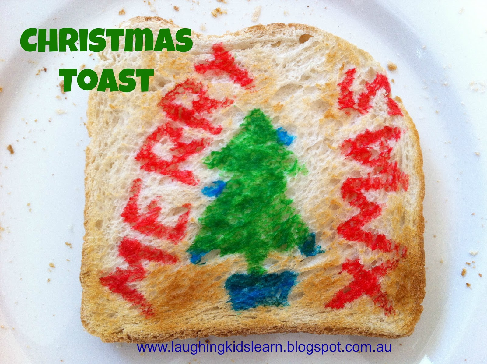 Christmas Toast - Laughing Kids Learn