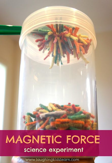 Simple Science Experiment for Kids on Magnetic Force