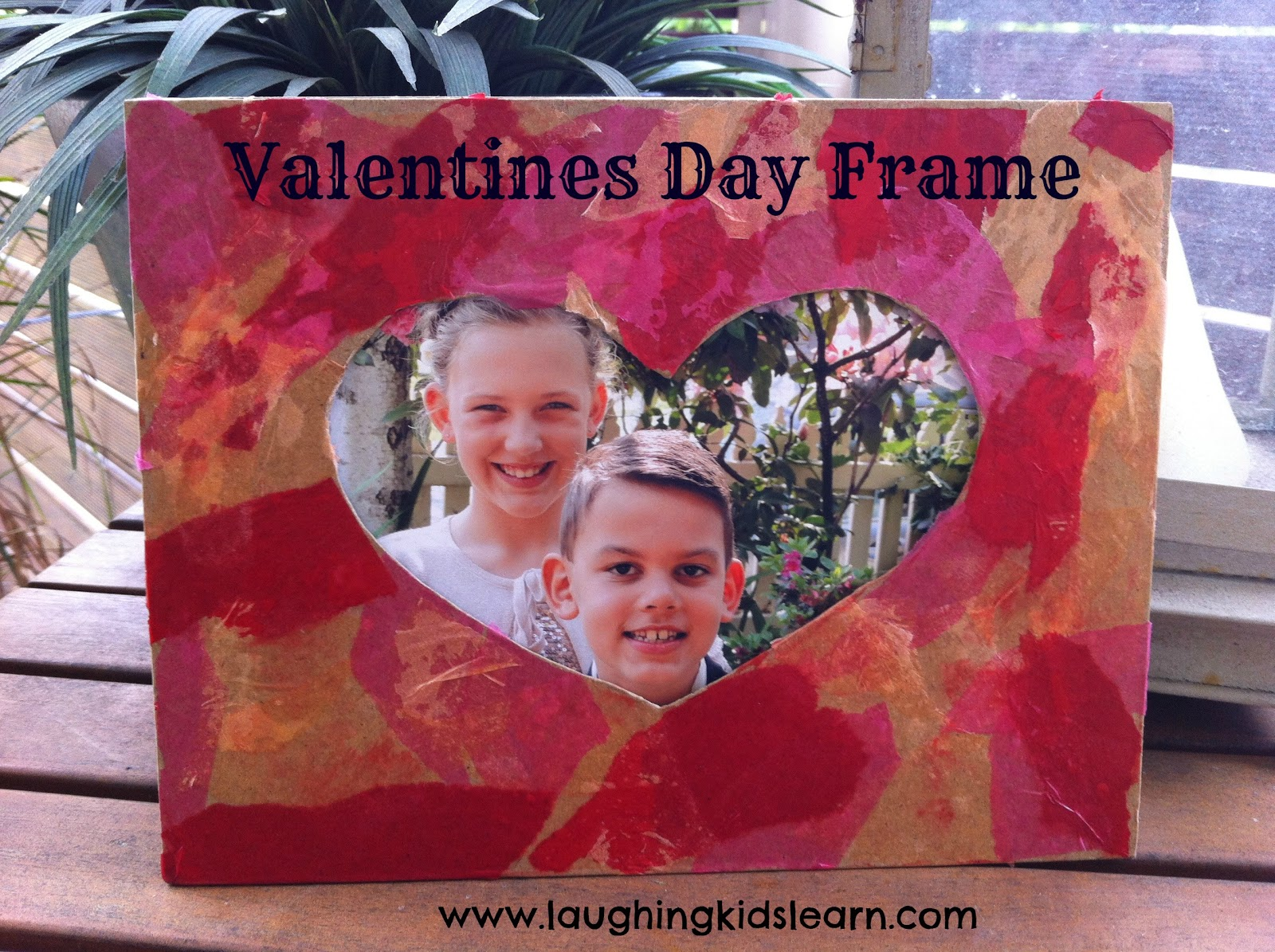 Valentines Day Frame Laughing Kids Learn