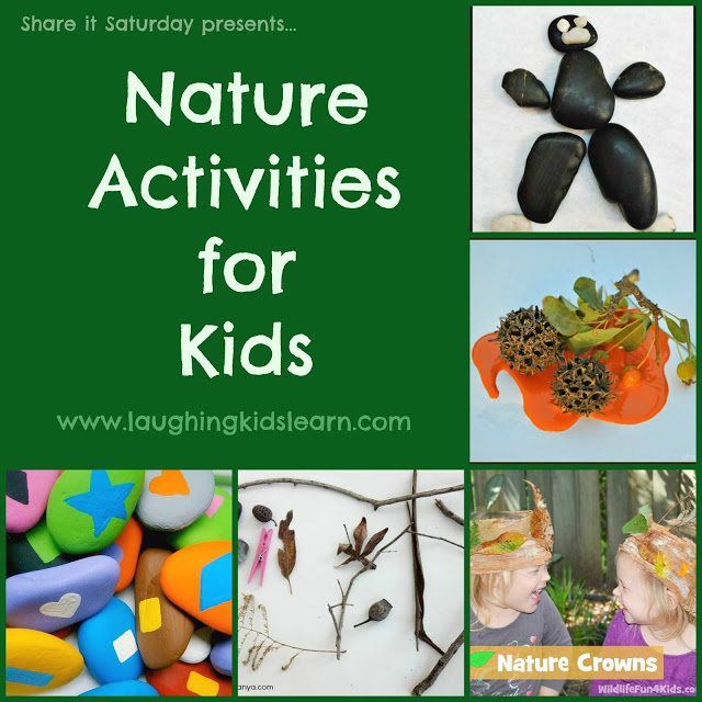 Share It Saturday - Nature Activities for Kids